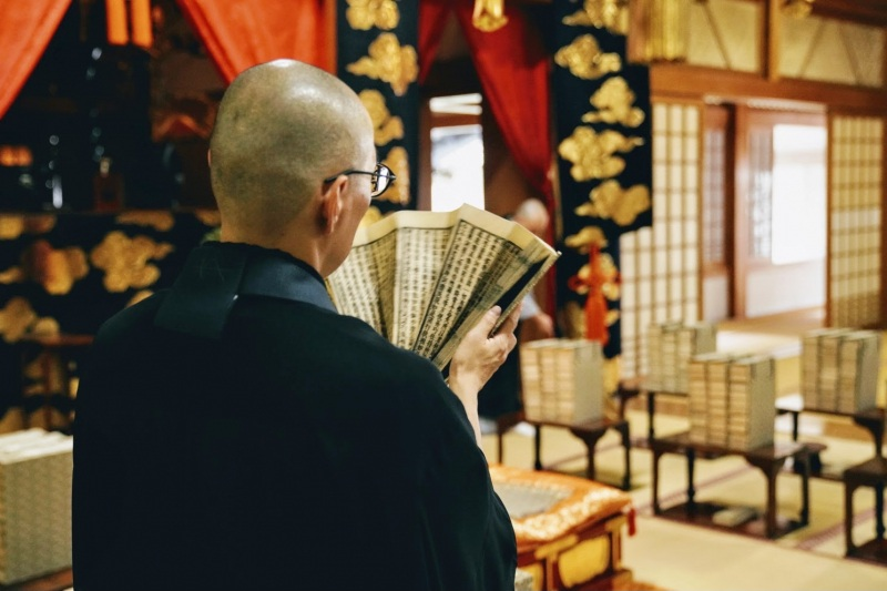 Zen Meditation and Spirituality at Zenpoji Temple, Tsuruoka